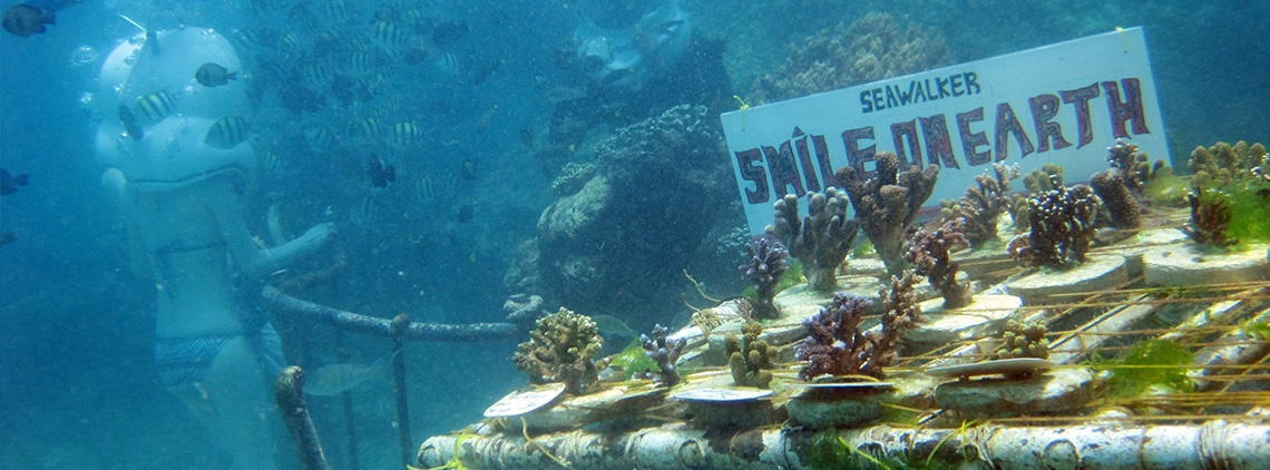 Seawalker Bali ECO Program, Smile On Earth