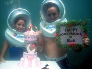 Celebrate Honeymoon Under Water